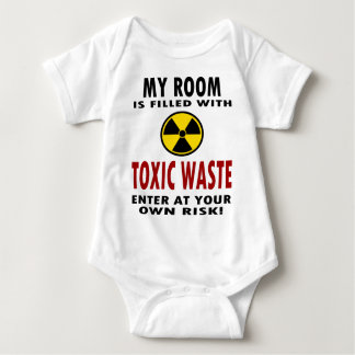 My Room Is Filled With Toxic Waste Baby Bodysuit