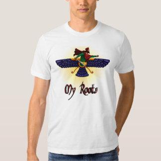 My Roots - Aryan Warrior Faravahar Shirt