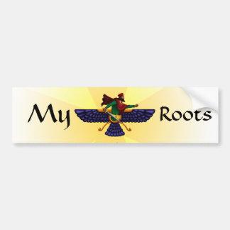 My Roots Bumper Sticker
