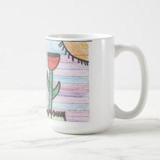 My Rose Mug,Picture Desing by Alicia Raygoza. Basic White Mug