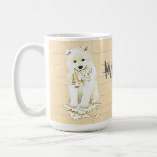 My Samoyed Ate my Homework Coffee Mug