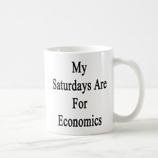 My Saturdays Are For Economics Coffee Mug