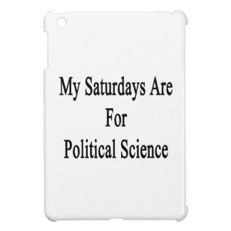 My Saturdays Are For Political Science iPad Mini Case