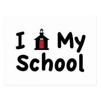 My School Postcard