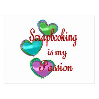 My Scrapbooking Passion Postcard