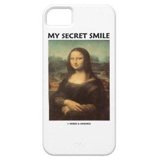 My Secret Smile (da Vinci's Mona Lisa) iPhone 5 Cover
