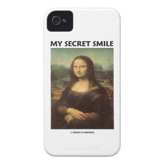 My Secret Smile (da Vinci's Mona Lisa) iPhone 4 Covers