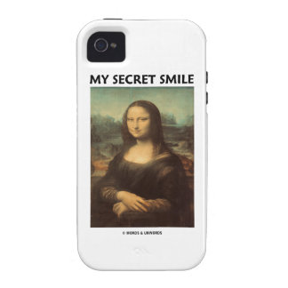 My Secret Smile (da Vinci's Mona Lisa) Vibe iPhone 4 Covers