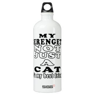 My Serengeti not just a cat it's my best friend SIGG Traveller 1.0L Water Bottle