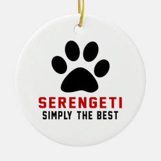 My Serengeti Simply The Best Christmas Tree Ornament