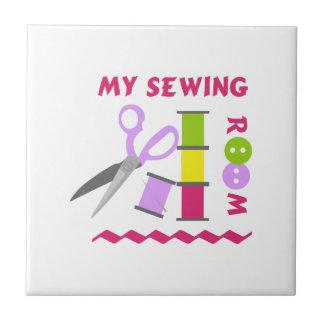 MY SEWING ROOM CERAMIC TILE