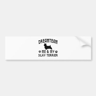 My Silky Terrier Dog Bumper Stickers