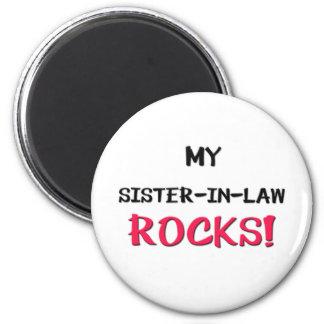 My Sister-in-Law Rocks Magnet