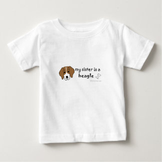 my sister is a beagle baby T-Shirt