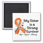 My Sister is a Strong Survivor Orange Ribbon