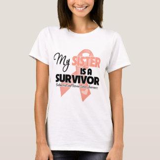 My Sister is a Survivor - Uterine Cancer T-Shirt