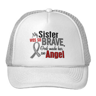 My Sister Is An Angel 1 Brain Cancer Mesh Hat
