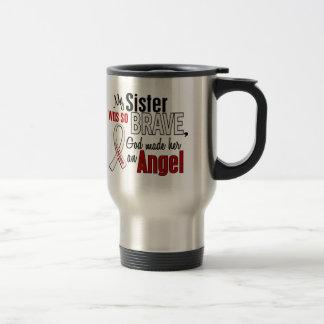 My Sister Is An Angel Lung Cancer Mug