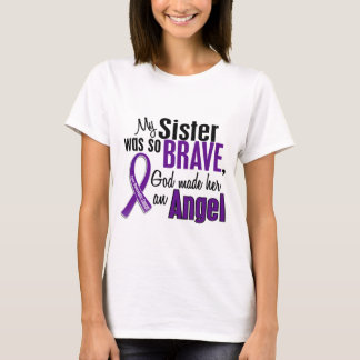 My Sister Is An Angel Pancreatic Cancer T-Shirt