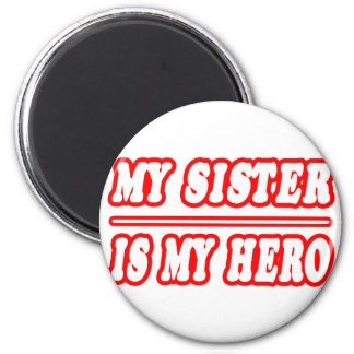 My Sister Is My Hero 6 Cm Round Magnet