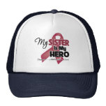 My Sister is My Hero - Multiple Myeloma Mesh Hats