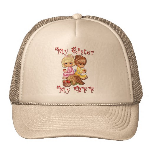 My Sister My BFF Hats