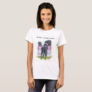 My Sister = MYBEST FRIEND, Puppy Love, Sister Love T-Shirt