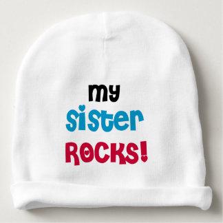 My Sister Rocks Baby Beanie