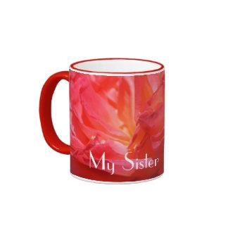 My Sister Rocks It! gifts Sisters Coffee Mugs Rose