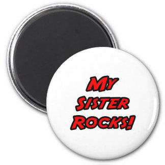 My Sister Rocks Fridge Magnets