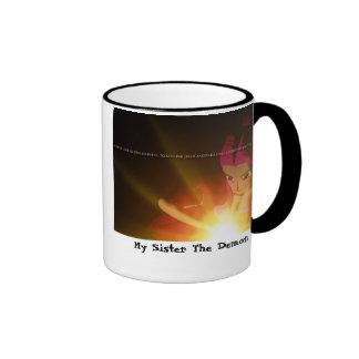 My Sister The Demon mug- Arabella Ringer Mug