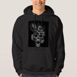 my skull hoodie