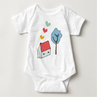 My small house baby bodysuit