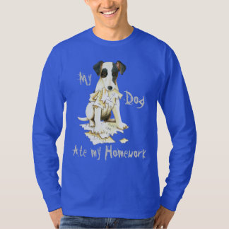My Smooth Fox Terrier Ate My Homework T-Shirt
