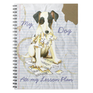 My Smooth Fox Terrier Ate My Lesson Plan Notebook