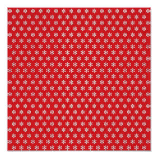 """My Snow Flakes ~ Gift Wrapping Paper 13.25""""x13.25"""" Posters"""