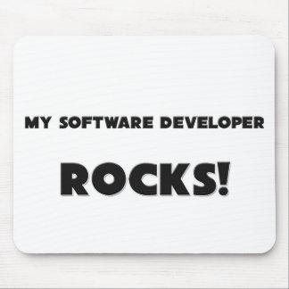 MY Software Developer ROCKS Mouse Pads