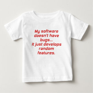 My Software doesnt have Bugs Tee Shirt