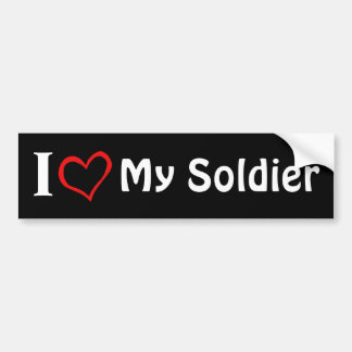 My Soldier Bumper Sticker
