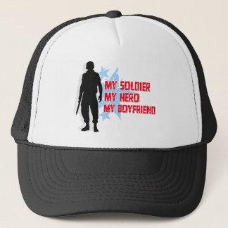 My Soldier, My Hero, My Boyfriend Trucker Hat