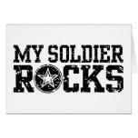 My Soldier Rocks Greeting Card