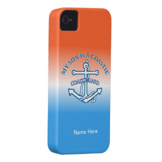 My Son Is A Coastie iPhone4 Case