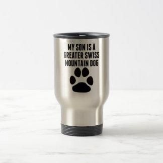 My Son Is A Greater Swiss Mountain Dog Coffee Mugs