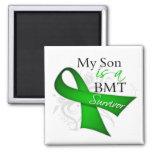 My Son is Bone Marrow Transplant Survivor Fridge Magnet