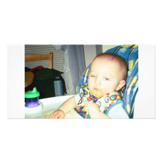 my son personalised photo card