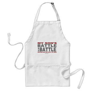 My Son's Battle Standard Apron
