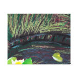 My son's image based on Monet Canvas Print
