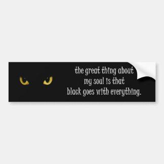 my soul bumper sticker