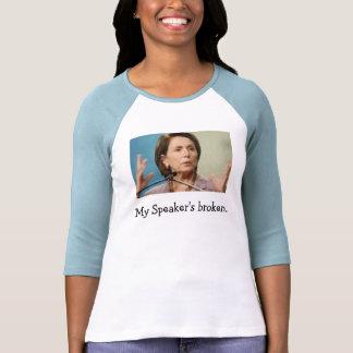 My Speaker's broken. Tees