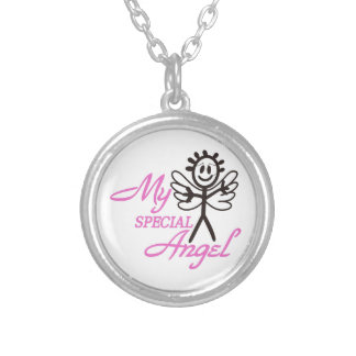 My Special Angel Round Pendant Necklace